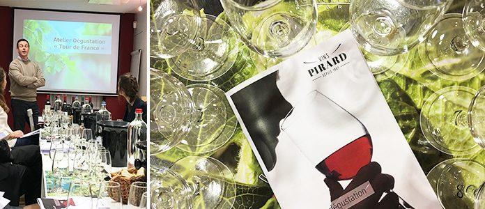 On a testé l' Atelier dégustation 'Tour de France' à la maison Pirard