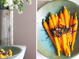 Carottes aux saveurs asiatiques et algues rouges dulse | Une recette végétarienne