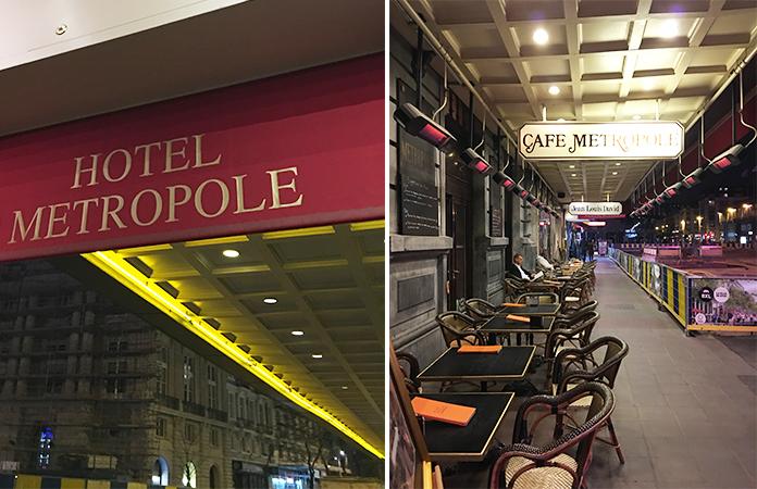 Café Métropole place De Broukère