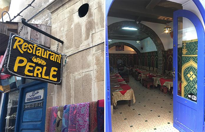 Restaurant la petite perle Essaouira