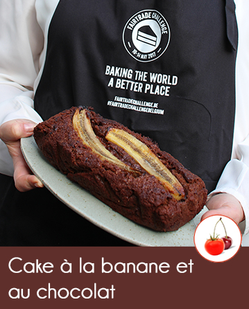 Cake à la banane et au chocolat