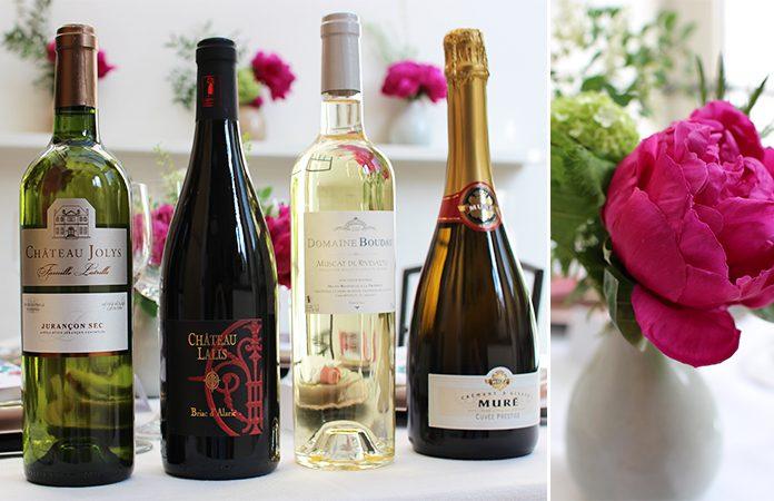 Fêtes des mères | Une jolie table et une idée menu avec association vin