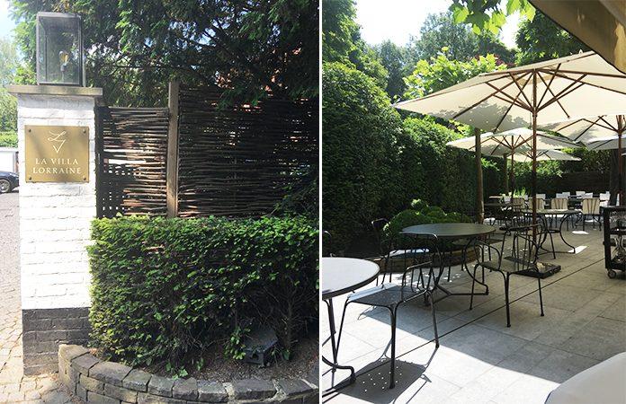 Villa Lorraine * un lunch étoilé aux abords du bois de la Cambre