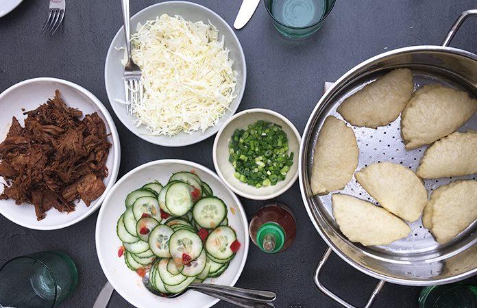 Banh boah - Bao | Une recette de brioche buns à la vapeur
