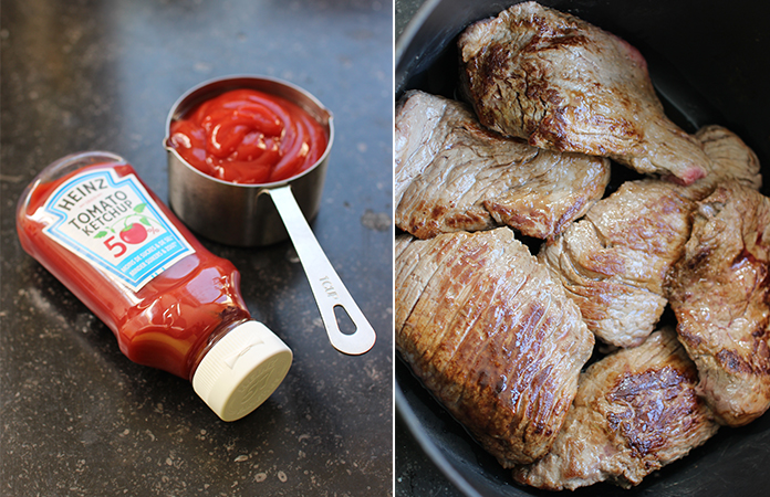 Bœuf effiloché sauce barbecue cuit à basse température