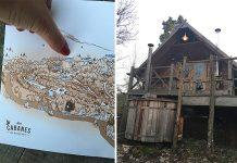 Rensiwez | Une nuit dans une cabane au milieu des bois
