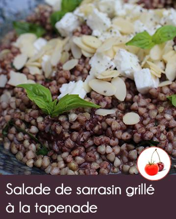 Salade de sarrasin grill la tapenade et b uf irlandais - Magasin bio arras ...