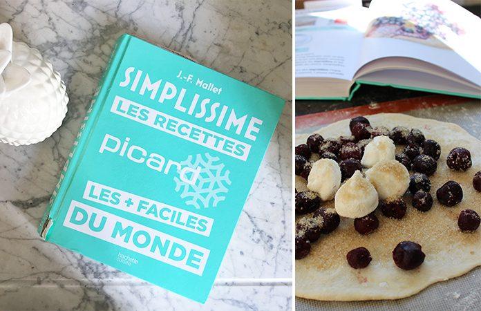 Tarte au sucre à la cerise | Une recette du livre simplissime de Picard surgelé