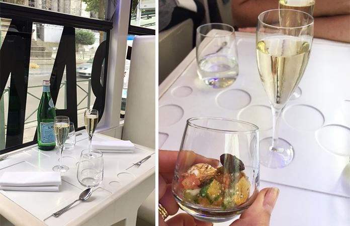 Découvrir le champagne Besserat de Bellefon dans le tram expérience