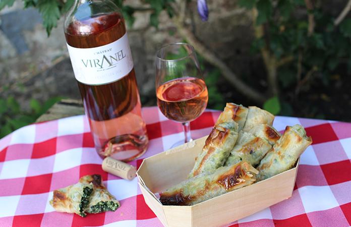 Simon nous propose en accompagnement un vin rosé Château Viranel– Saint Chinian