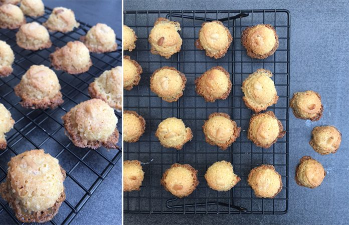 Biscuits à la farine de riz et beurre de cacahouète