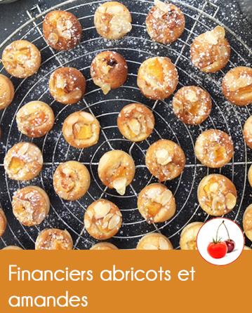 Financiers abricots et amandes