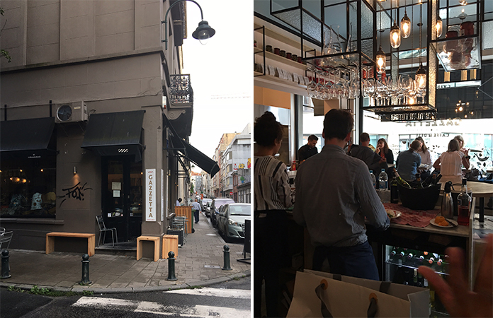 Gazetta Bar à vin Bruxelles