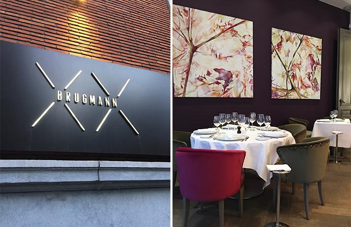 Brugmann restaurant gastronomique bruxelles tomate for Ateliers cuisine bruxelles