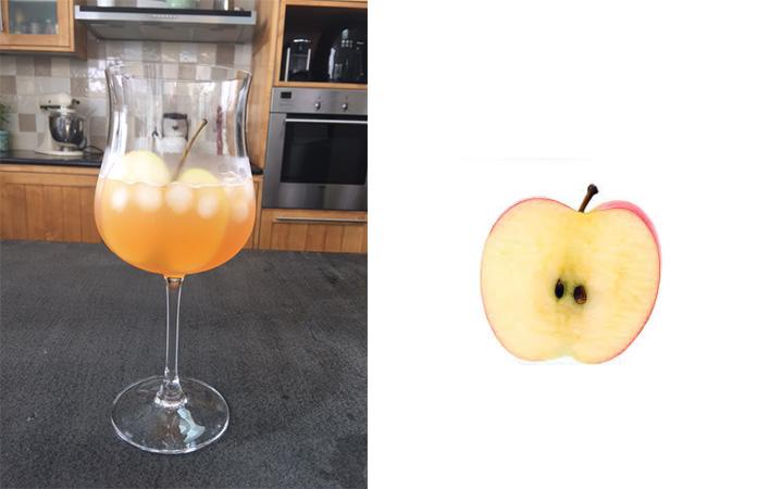 cidre et pomme