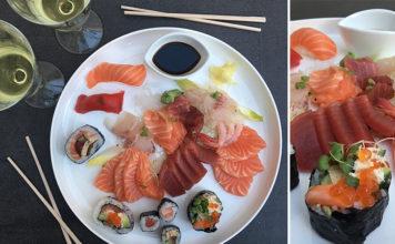 L'assortiment de sashimi des Côtes Normandes