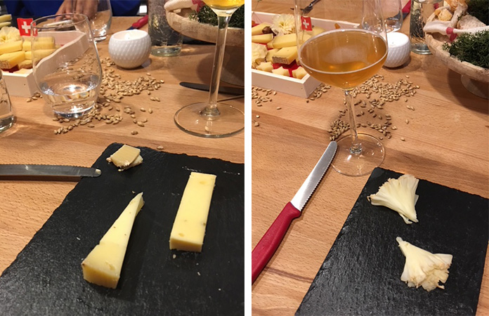 Foodpairing fromages de suisse et bières bruxelloises