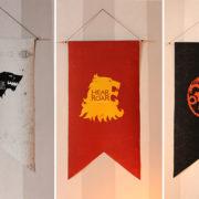 Games of Thrones | Une décoration de table atour de 3 maisons Stark, Lannister et Targaryen