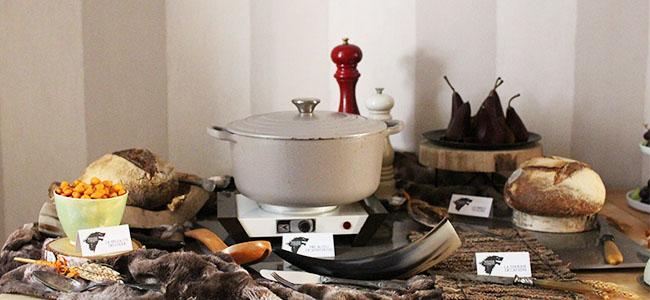 Games of Thrones | Une décoration de table maisons Stark