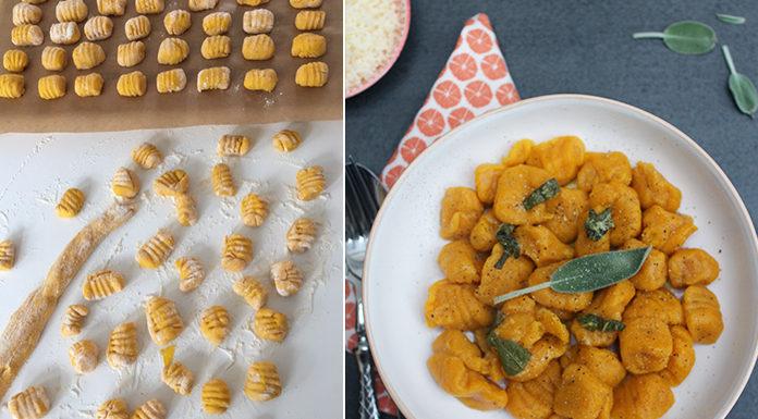 Gnocchi de potimarron beurre à la sauge | Une recette aux accents italiens