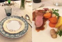 Magret de canard sauce Porto et légumes rôtis