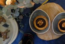 Tartelette au chocolat et noix