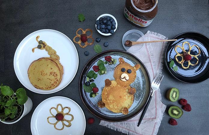 Atelier crêpes avec Nutella