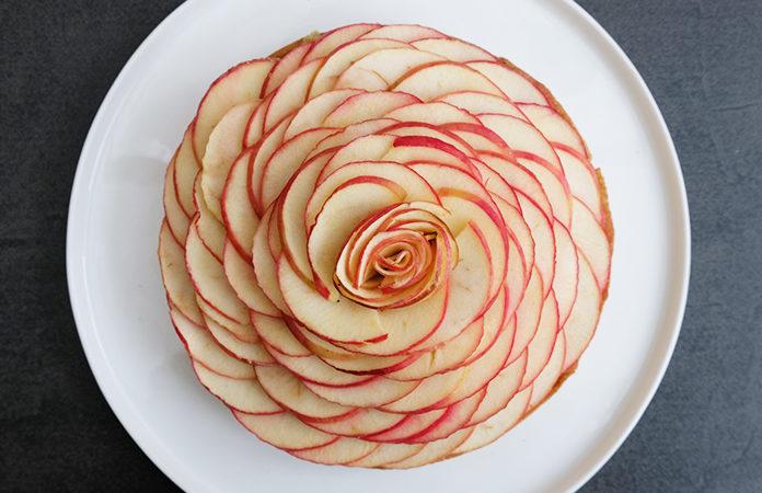 Tarte Aux Pommes Comme Une Fleur Une Recette Inspiree Du Chef