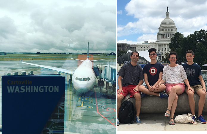 Washington DC en famille