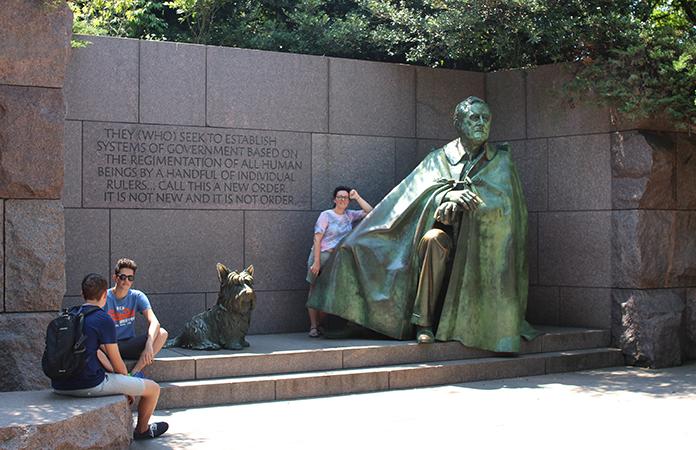 Franklin Delano Roosvelt Memorial