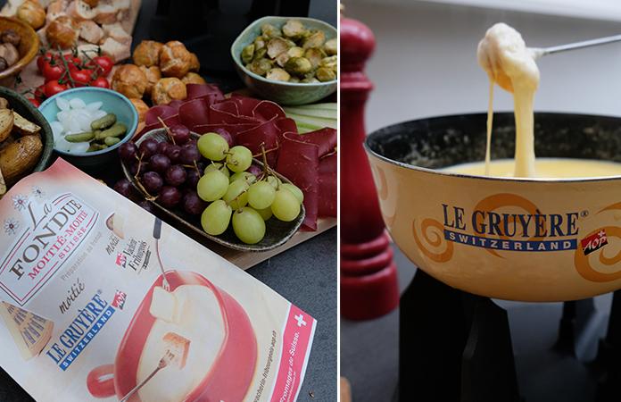 la fondue suisse moiti moiti gruy re et vacherin une recette en vid o tomate. Black Bedroom Furniture Sets. Home Design Ideas