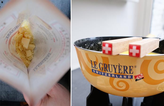 La fondue Suisse Moitié Moitié