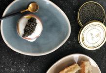 Œufs à la coque au Caviar