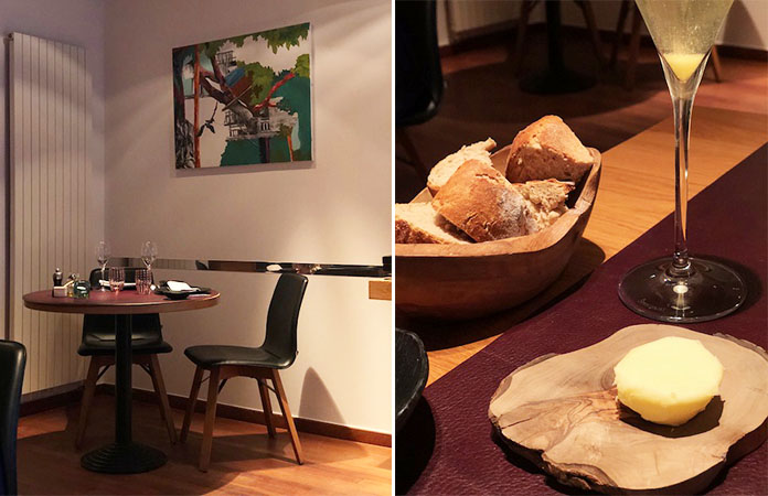 Le coriandre restaurant gastronomique watermael for Vaisselle restaurant gastronomique