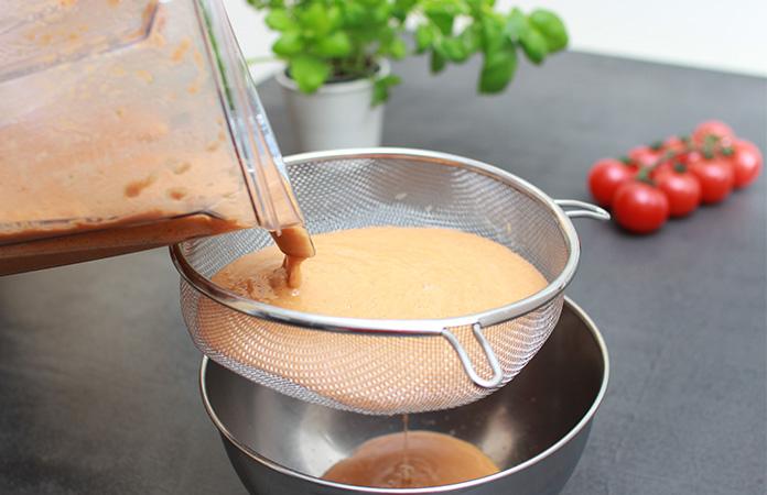 Gaspacho Andalou   Une recette qui s'apprécie quand le soleil brille