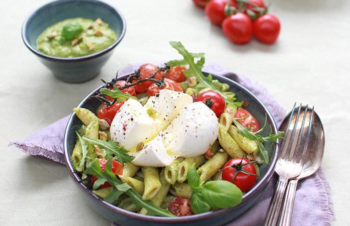 Pâtes fraicheur | Une recette de salade toute simple toute délicieuse