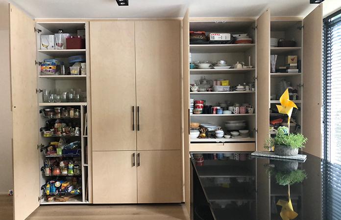 Cuisine armoire rangement