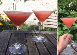 Frozen rosé aux fraises | L'apéro parfait au jardin ou en terrasse
