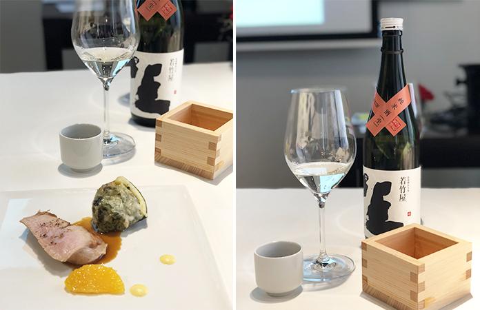 Le saké japonais