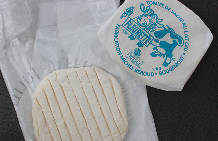 Tomme Vaudoise au Barbecue