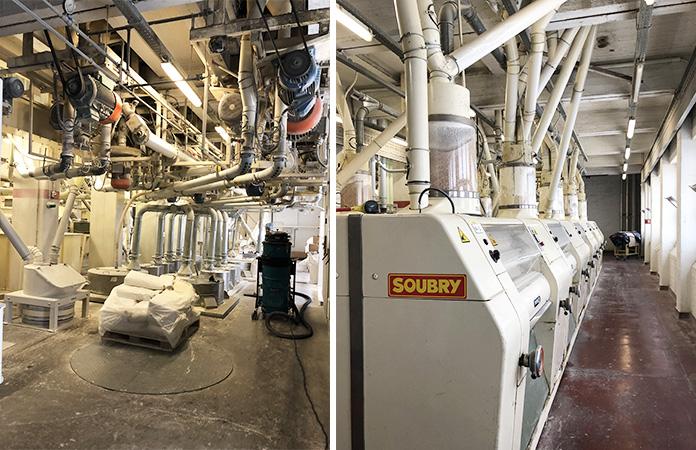 Visiste de l'usine Soubry