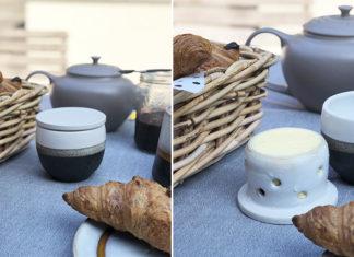 Beurrier à eau | Une astuce pour conserver le beurre sans frigo