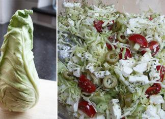 Salade de chou pointu | Une recette végétarienne