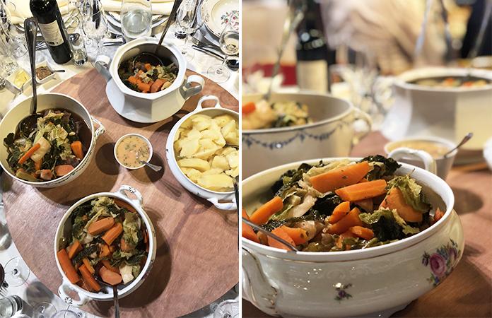 | Une expérience théâtrale et culinaire