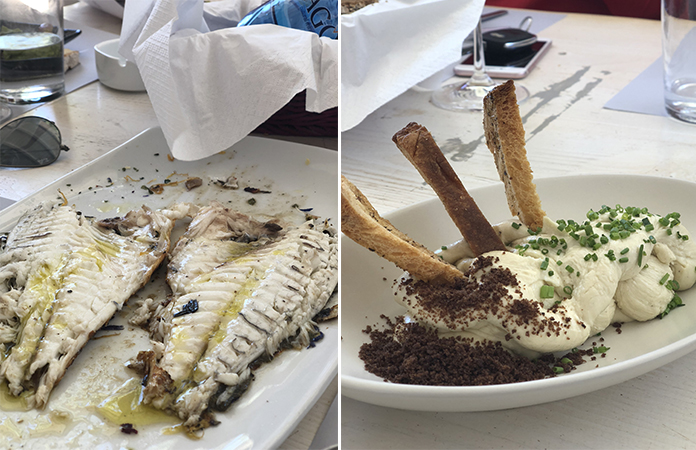 Anti Paros Soros Restaurant
