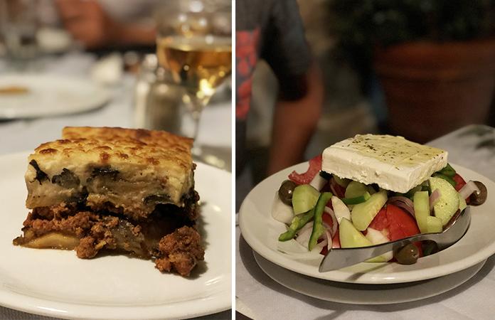 repas tradition grec