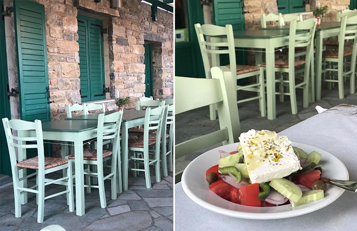Glyfa Paros restaurant
