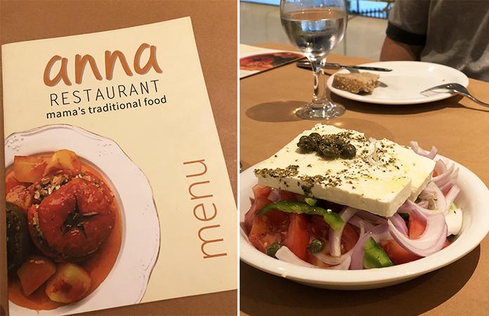 Paros - Drios - Anna Restaurant