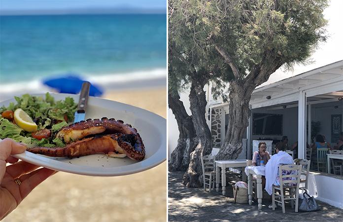 Paros - Drios Markakis Restaurant