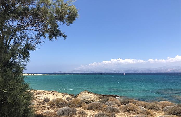 Paros plage